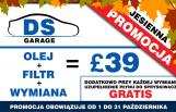 DS Garage - Jesienna Promocja