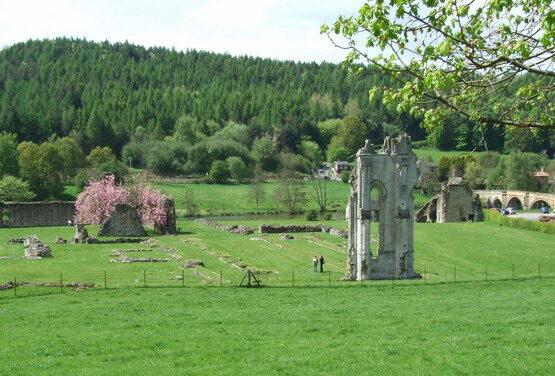 Szlak spacerowy po północnej części Yorkshire — Kirkham Abbey