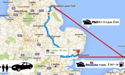 Którym Promem z Hull do Rotterdamu?