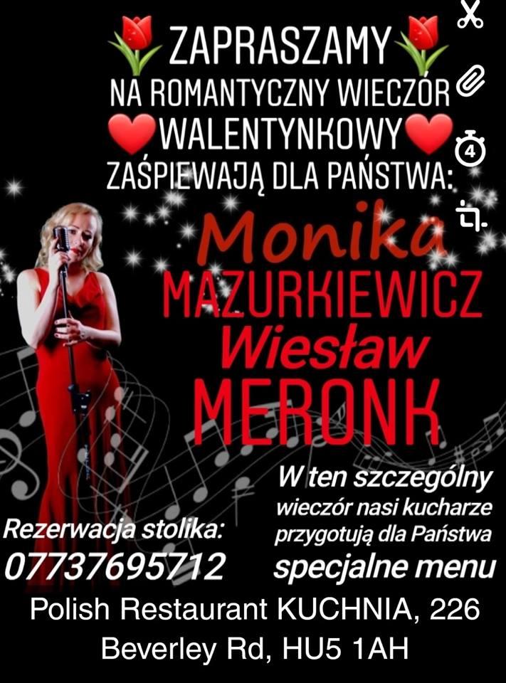 Walentynki W Polish Restaurant Kuchnia